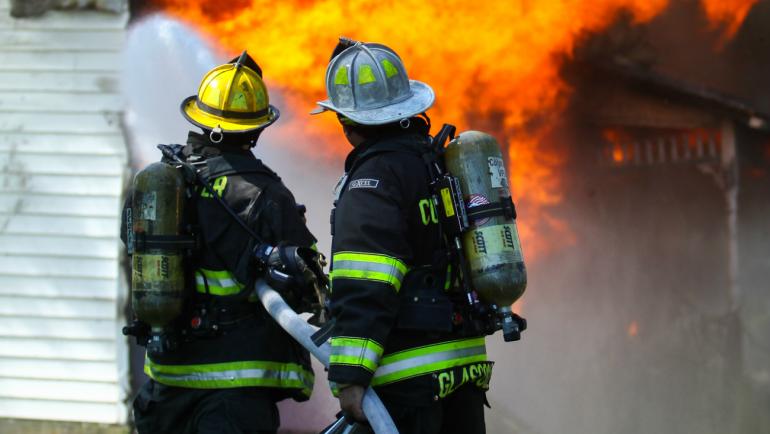 Virginia teenagers may rescue volunteer fire departments