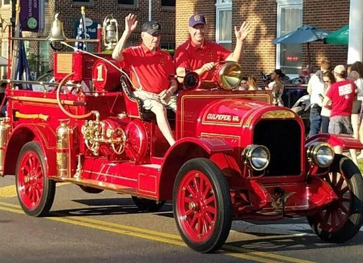 Culpeper County 2018 Fireman's Parade Winners