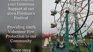 Annual Culpeper Fireman's Carnival was  huge success